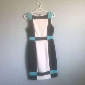 Maggy London tri-color dress